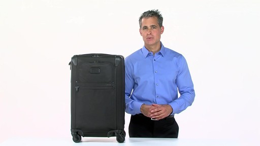 Tumi Alpha 2 Frequent Traveler Expandable 4 Wheel Carry-On - eBags.com - image 1 from the video