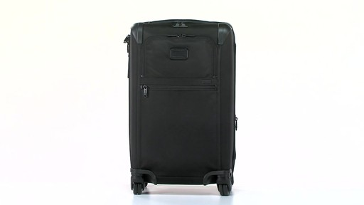 Tumi Alpha 2 Frequent Traveler Expandable 4 Wheel Carry-On - eBags.com - image 10 from the video