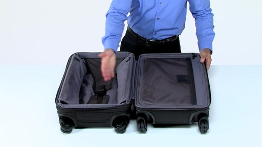 Tumi Alpha 2 Frequent Traveler Expandable 4 Wheel Carry-On - eBags.com - image 2 from the video