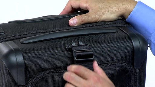 Tumi Alpha 2 Frequent Traveler Expandable 4 Wheel Carry-On - eBags.com - image 5 from the video