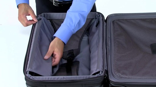 Tumi Alpha 2 Frequent Traveler Expandable 4 Wheel Carry-On - eBags.com - image 7 from the video
