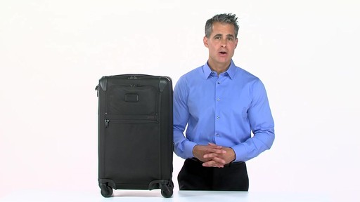 Tumi Alpha 2 Frequent Traveler Expandable 4 Wheel Carry-On - eBags.com - image 9 from the video