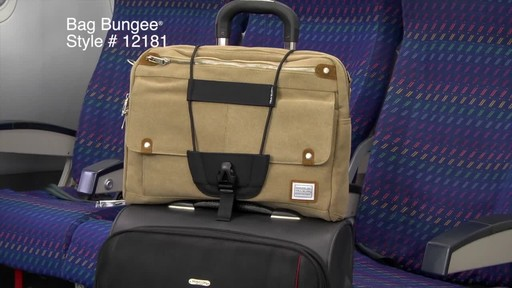 Travelon The Bag Bungee - image 9 from the video