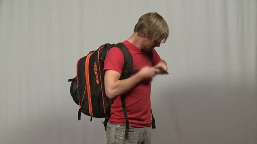 Sportube Overheader Gear and Boot Backpack - eBags.com - image 3 from the video