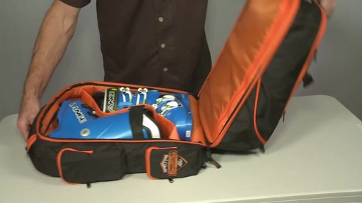 Sportube Overheader Gear and Boot Backpack - eBags.com - image 4 from the video