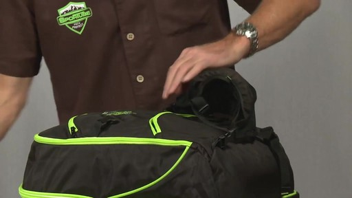 Sportube Overheader Gear and Boot Backpack - eBags.com - image 7 from the video