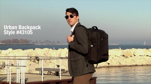 Travelon Anti-Theft Urban Backpack - Shop eBags.com - image 1 from the video