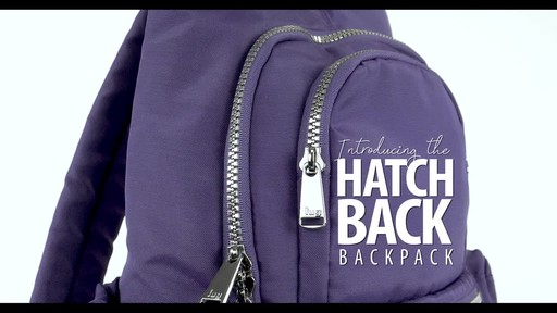 Lug RFID Hatchback Mini Backpack - image 1 from the video