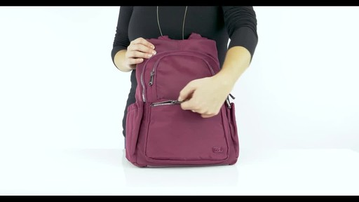 Lug RFID Hatchback Mini Backpack - image 2 from the video