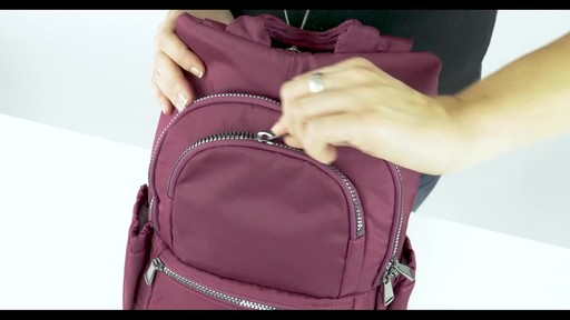 Lug RFID Hatchback Mini Backpack - image 3 from the video