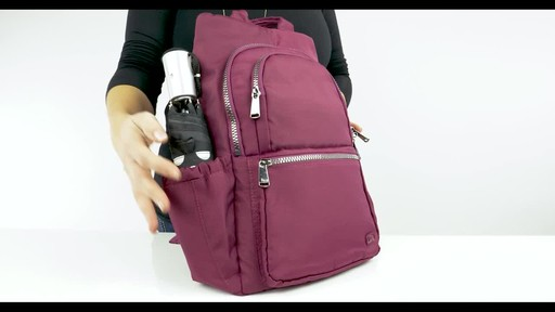 Lug RFID Hatchback Mini Backpack - image 7 from the video