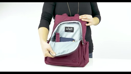 Lug RFID Hatchback Mini Backpack - image 8 from the video