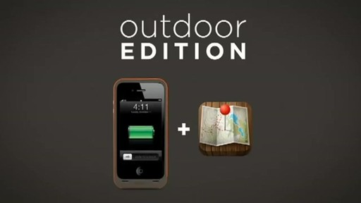 finest selection 975d5 2bc0e Mophie Juice Pack Plus for iPhone 4/4S - Outdoor Edition Rundown