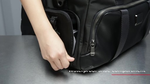 Tumi Alpha Bravo McCoy Gym Bag - image 3 from the video