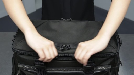 Tumi Alpha Bravo McCoy Gym Bag - image 8 from the video