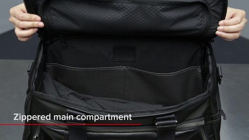 a85a92ba7a Tumi Alpha Bravo McCoy Gym Bag - image 9 from the video