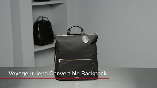 Voyageur Jena Convertible Backpack - image 1 from the video