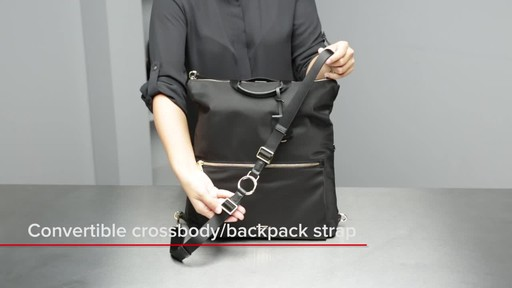 Voyageur Jena Convertible Backpack - image 2 from the video