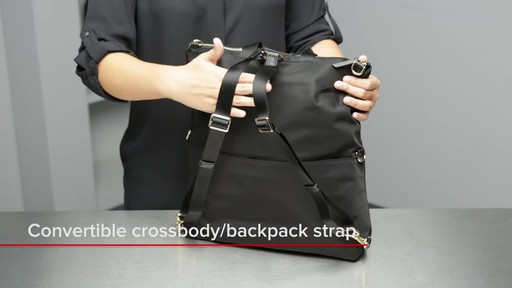 Voyageur Jena Convertible Backpack - image 3 from the video