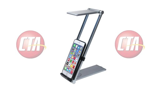 CTA Digital Folding Led Desk Lamp Stand - on eBags.com - image 1 from the video
