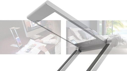 CTA Digital Folding Led Desk Lamp Stand - on eBags.com - image 5 from the video