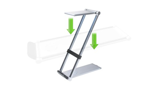 CTA Digital Folding Led Desk Lamp Stand - on eBags.com - image 8 from the video