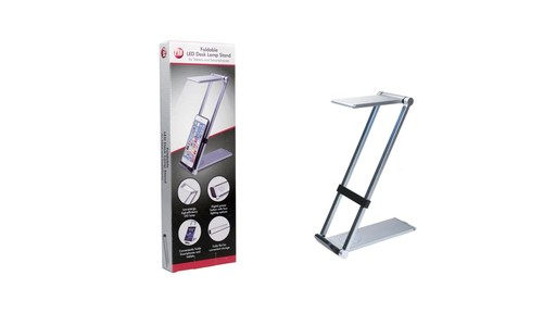 CTA Digital Folding Led Desk Lamp Stand - on eBags.com - image 9 from the video