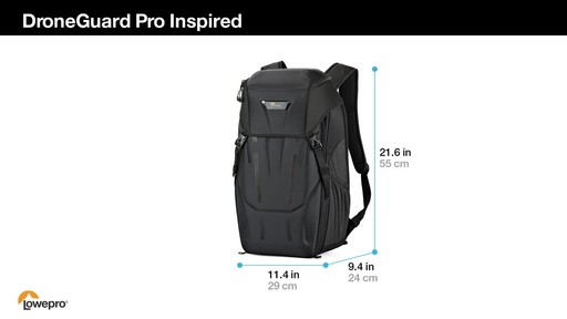 Lowepro DroneGuard Pro Inspired Backpack - image 10 from the video