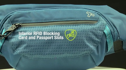 Travelon Anti-Theft Active Waist Pack - on eBags.com - image 6 from the video