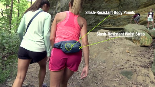 Travelon Anti-Theft Active Waist Pack - on eBags.com - image 9 from the video