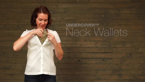 Eagle Creek Undercover Neck Wallets - image 1 from the video