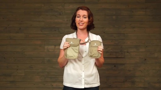 Eagle Creek Undercover Neck Wallets - image 10 from the video