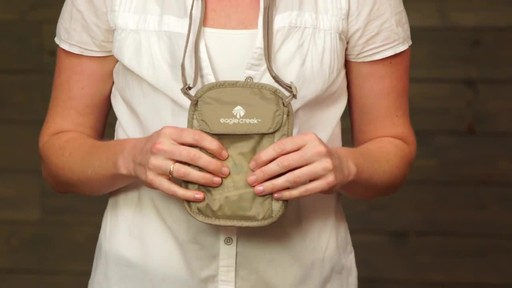 Eagle Creek Undercover Neck Wallets - image 2 from the video