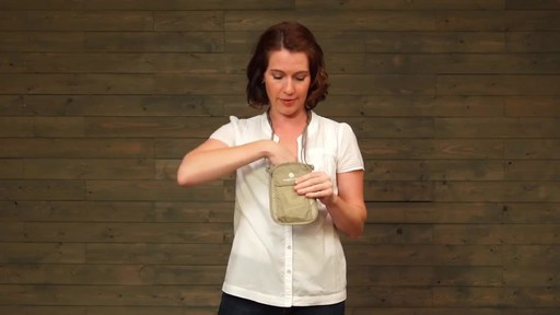Eagle Creek Undercover Neck Wallets - image 6 from the video