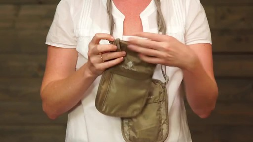 Eagle Creek Undercover Neck Wallets - image 7 from the video