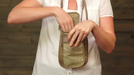 Eagle Creek Undercover Neck Wallets - image 9 from the video