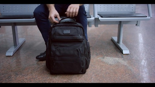 Tumi Alpha 2 Tumi T-Pass Business Class Brief Pack - eBags.com - image 3 from the video