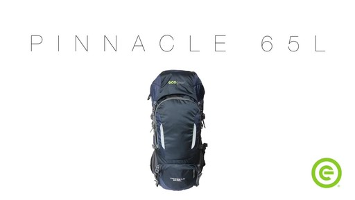ecogear Pinnacle 65L Hiking Pack - image 1 from the video