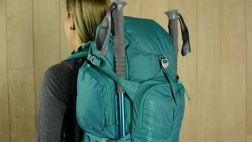 Kelty Redwing 40 Women's Hiking Backpack - image 5 from the video