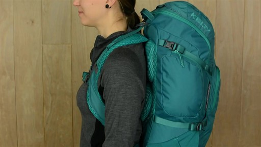 Kelty Redwing 40 Women's Hiking Backpack - image 9 from the video