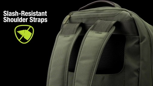 Travelon Anti-Theft Classic 2-Compartment Backpack - eBags.com - image 7 from the video