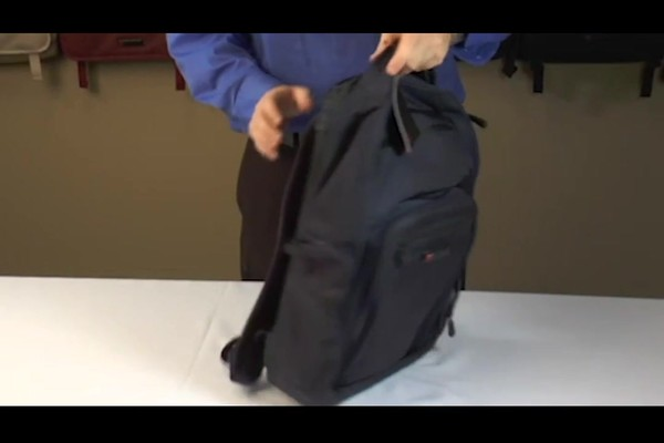 ecbc Hercules Laptop Backpack - eBags.com - image 9 from the video
