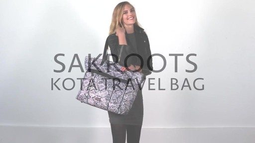 Sakroots Kota Nylon Travel Bag - image 1 from the video