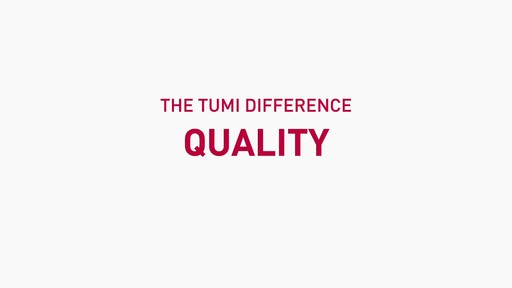 The Tumi Difference - Design - image 1 from the video