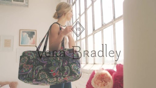 Vera Bradley Large Duffel - image 10 from the video
