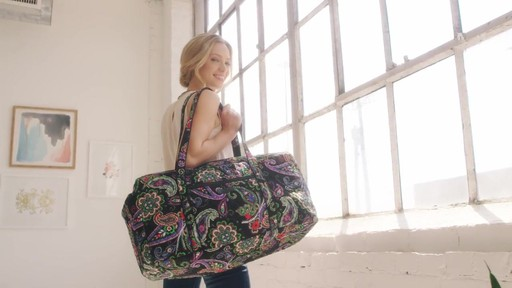 Vera Bradley Large Duffel - image 3 from the video