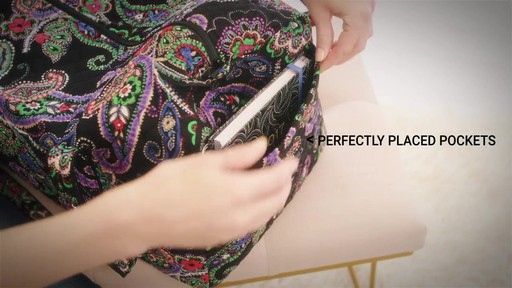 Vera Bradley Large Duffel - image 4 from the video