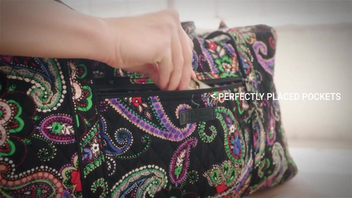 Vera Bradley Large Duffel - image 5 from the video