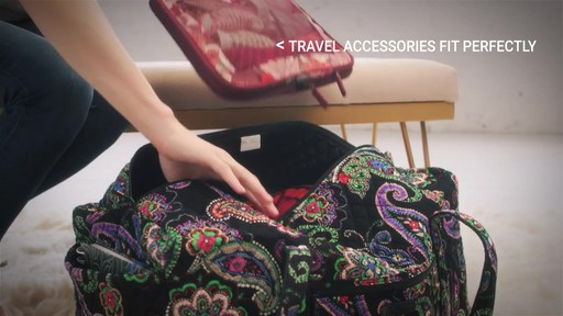 Vera Bradley Large Duffel - image 6 from the video