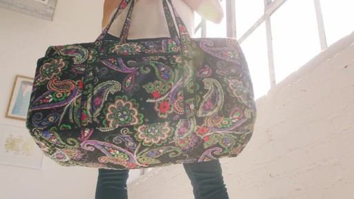 Vera Bradley Large Duffel - image 8 from the video